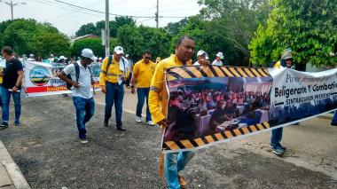 Un llamado a la unidad hicieron los trabajadores de La Guajira