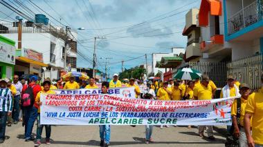 Sucre marcha agobiado por el trabajo informal y el desempleo