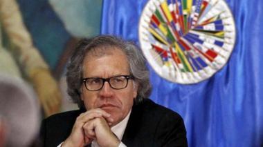 """Propuesta de constituyente es """"fraudulenta"""", dice Almagro"""