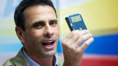 Con Constituyente, Maduro busca evitar elecciones en Venezuela: Capriles
