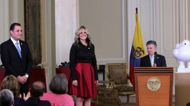 Santos posesiona nuevos directores del Sena y Prosperidad Social