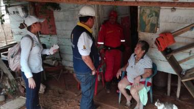Emergencia invernal deja 7.000 afectados en Córdoba
