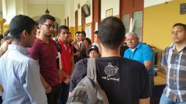 A mano armada roban a dos estudiantes en un laboratorio de UniCartagena