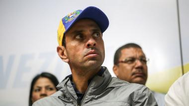 "Protestas en Venezuela no cesarán en momento de ""cambio histórico"": Capriles"
