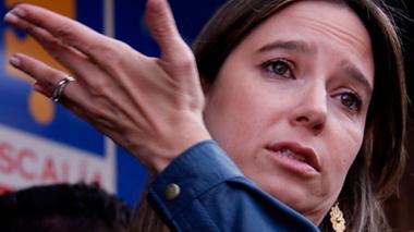 Cristina Plazas, directora del Icbf.