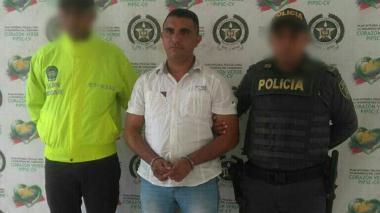 Wilgen Estrada Mercado, arrestado por homicidio.
