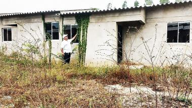 Las 177 casas que se pierden  entre la maleza en El Copey