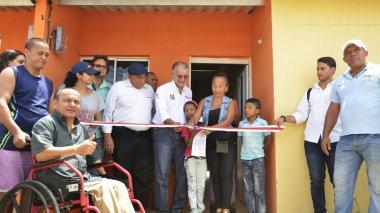 Casas gratis para 63 familias de San José de Saco, en Juan de Acosta