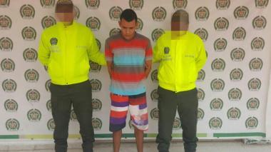 Capturan al presunto asesino del auxiliar de la Policía en Ciénaga