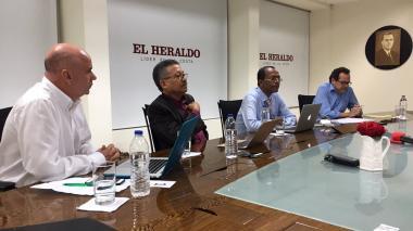 """""""Se necesita un rector urgente"""": candidatos a rectoría de Uniatlántico en debate en EL HERALDO"""