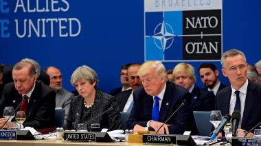 Trump pasó cuenta a sus aliados de la OTAN