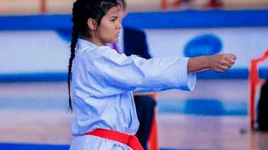 Shanee Torres y Luis Triviño clasificaron  a la final del Panamericano de karate