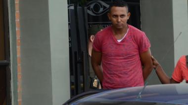 Arnovis Jesús Serpa Ospino, el presunto implicado en el asesinato del auxiliar de la Policía.