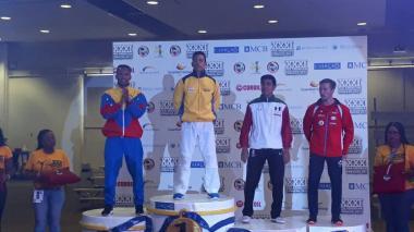 Luis Triviño, oro en Panamericano de Karate