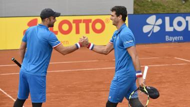 Juan Sebastián Cabal y Robert Farah avanzaron a la segunda ronda de Roland Garros