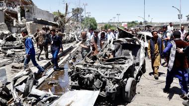 Brutal atentado al inicio del ramadán deja 90 muertos y 463 heridos en Kabul