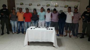 Gaula captura a 20 señalados de integrar banda 'Los Quimera Bolívar'