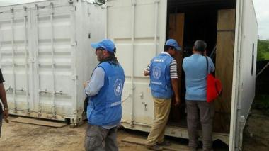 Farc asegura que entregó 30% de sus armas a misión ONU en Colombia