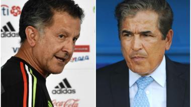 Juan Carlos Osorio vs. Jorge Luis Pinto, por cita mundialista