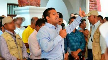 El alcalde de Valledupar Augusto 'Tuto' Ramírez Uhía.