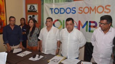 Gabriel Caiafa, Rosa Arroyo, Alberto Sánchez, Luis Escorcia y Mauricio Russo, 5 de los 8 renunciantes.