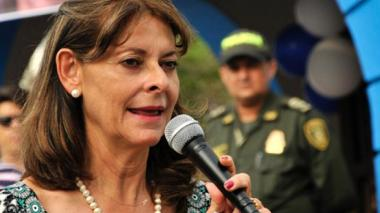 Marta Lucía Ramírez.