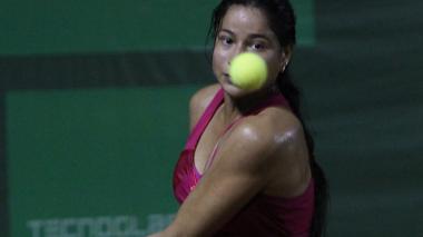 'Mafe' Herazo, por el título de dobles en Portugal
