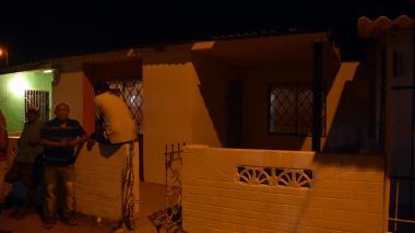 Casa en la calle 10A con carrera 5A sur en Malambo donde ocurrió el incidente.