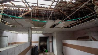 Área del Hospital de Barranquilla que será intervenida con la obra.