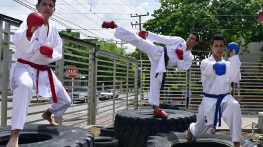 Los Triviño, hechos para el karate