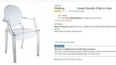 Compró una silla por Internet para su negocio, cuando le llegó todos se burlaron de ella