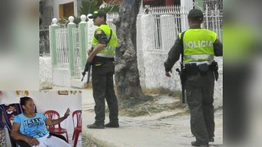 Lourdes del Carmen Segovia Castro, mujer herida de tres tiros en medio de una de las riñas.
