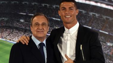 Contentar a Cristiano Ronaldo, primera misión de Florentino Pérez tras su reelección