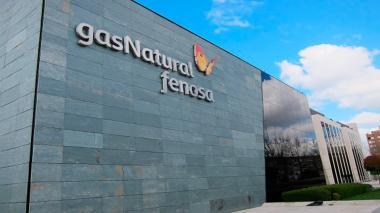 Fachada de la sede de Gas Natural Fenosa.