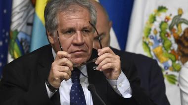 Almagro descarta renunciar a OEA a cambio de retorno de Venezuela a la entidad