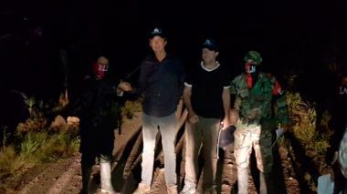 Liberados los dos periodistas secuestrados por el ELN