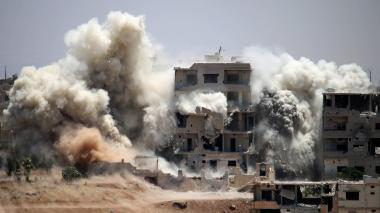 Bombardeo en Siria deja 30 civiles muertos