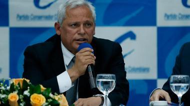 Hernán Andrade, senador conservador.