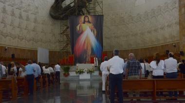 Monseñor Víctor Tamayo presidió la ceremonia.