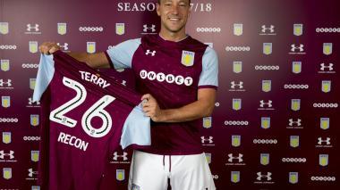 John Terry deja el Chelsea y firma con el Aston Villa