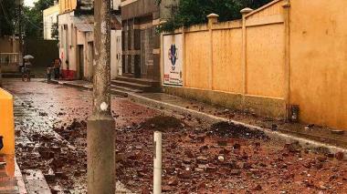 Impacto de rayos matan a hermanos y tumba cúpula de iglesia de Arenal