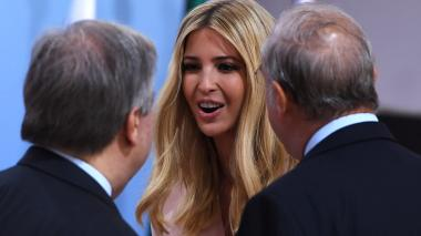 Ivanka Trump remplaza a su padre en la mesa de líderes del G20