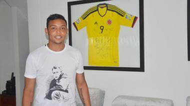 El jugador Luis Fernando Muriel.
