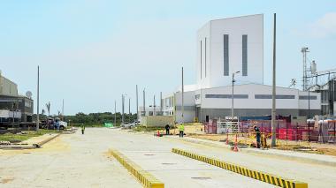 Aspecto general de las instalaciones de la Zona Franca Palermo.