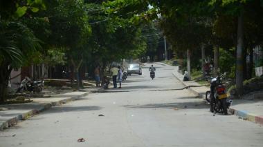 Calle 84 con carrera 14 del barrio La Esmeralda, donde sucedieron los hechos.
