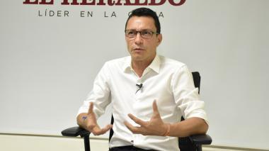 El aspirante presidencial Carlos Caicedo.