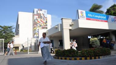 Hospital Universitario Cari, en Barranquilla.