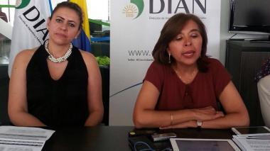 Cecilia Rico, directora gestión ingresos DIAN.
