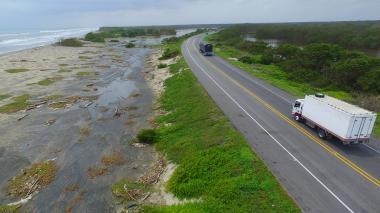 El paso por la vía Barranquilla-Ciénaga es normal: autoridades