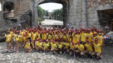La Banda de Baranoa celebra la Independencia con presentación en República Dominicana